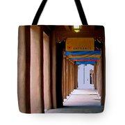 Santa Fe Sidewalk Tote Bag