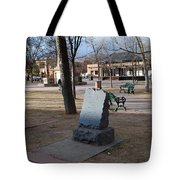 Santa Fe Trail Marker Tote Bag