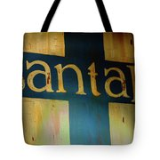 Santa Fe Vintage Sign Tote Bag