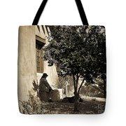 Santa Fe Woman  Tote Bag