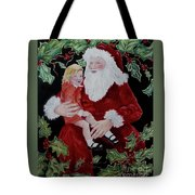 Santa, I Want _ Tote Bag
