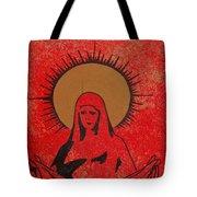 Santa Mae Tote Bag