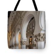 Santa Maria La Blanca Synagogue - Toledo Spain Tote Bag