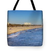 Santa Monica Beach Tote Bag