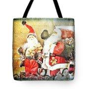 Santa Scene 2 Tote Bag