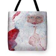 Santa Shhhh Tote Bag