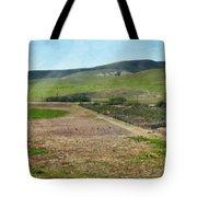 Santa Ynez Mountains Green Hills Ranch Tote Bag