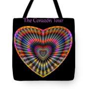 Santana The Corazon Tour Tote Bag by Visual Artist Frank Bonilla