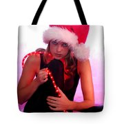 Santas Helper Tote Bag