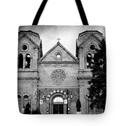 Sante Fe Cathedral Tote Bag