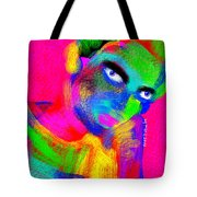 Santia Color Eksperimental Tote Bag
