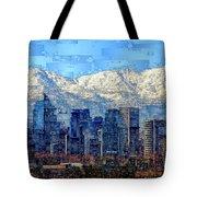 Santiago De Chile, Chile Tote Bag