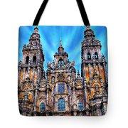 Santiago De Compostela Cathedral Tote Bag