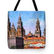 Santiago De Compostela, Cathedral, Spain Tote Bag