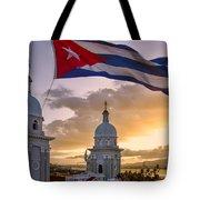 Santiago De Cuba Dusk Tote Bag
