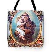 Santo Antonio De Lisboa Tote Bag
