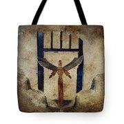 Santo Tote Bag by Carol Leigh