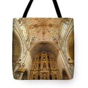 Santo Domingo Church Interior Tote Bag