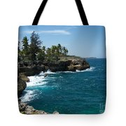 Santo Domingo Coastal View. Tote Bag