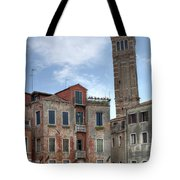 Santo Stefano Venice Leaning Tower Tote Bag
