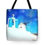 Santorini 1 Tote Bag
