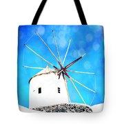 Santorini 2 Tote Bag