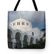 Santorini Church 2 Tote Bag