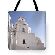 Santorini Church #6 Tote Bag