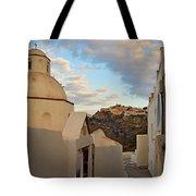 Santorini Dome Church Tote Bag