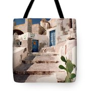 Santorini Entryway Tote Bag