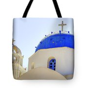 Santorini Tote Bag by Joana Kruse