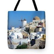 Santorini Oia Tote Bag