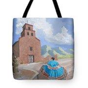Santurario De Guadalupe Tote Bag