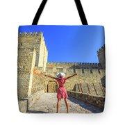 Sao Jorge Castle Tourist Tote Bag