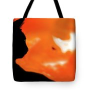 Saphira At Sunset Tote Bag