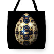 Sapphire And Gold Imperial Easter Egg Tote Bag