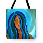 Sapphire Angel Tote Bag