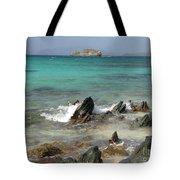 Sapphire Beach Tote Bag