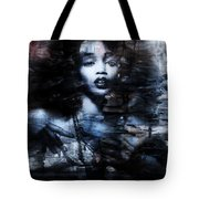 Sapphire Longing In The Blue Dust #1 Tote Bag