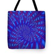 Sapphire Swirl Tote Bag