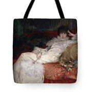 Sarah Bernhardt Tote Bag by Georges Clairin