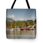 Saranac Lake Tote Bag