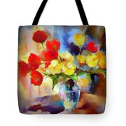 Sara's Colorful Bouquet  Tote Bag