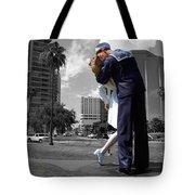 Sarasota Kiss Tote Bag