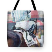Saratoga Stripes Tote Bag