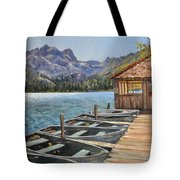 Sardine Lake Tote Bag