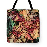 Sargam Abstract A1 Tote Bag