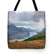 Saskatchewan Glacier In Canada Tote Bag