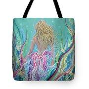 Sassy Mermaid  Tote Bag