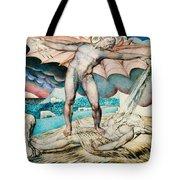 Satan Smiting Job With Sore Boils Tote Bag